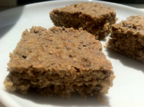 Oatmeal banana bars (Low FODMAP) (image T. Freuman)
