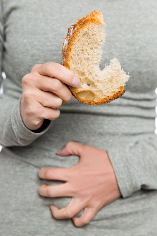 When wheat bloats you, is it because of the protein (gluten) or the carb (fructan)?