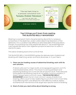 Click here to download  Top 5 things you'll learn from reading T he Bloated Belly Whisperer