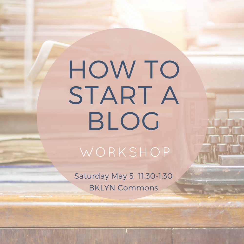 Blog Strategy Workshop