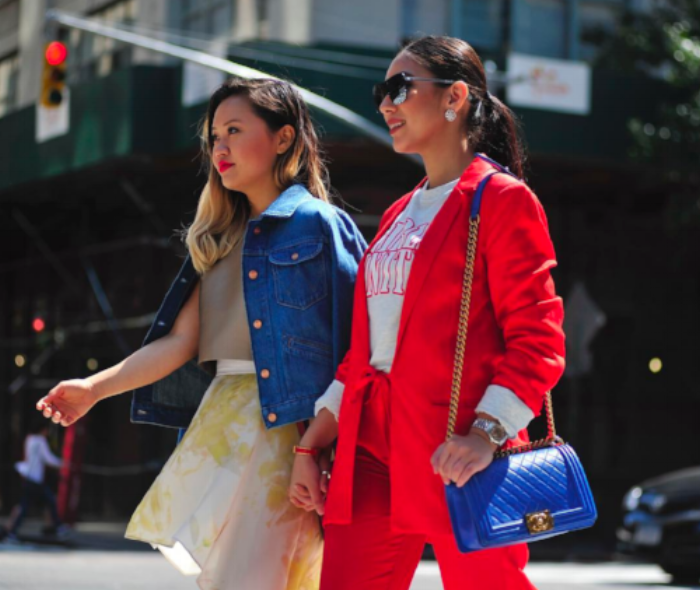 NYFW is always more fun with friends. Romio Fashion Expert Mariann Yip tackles her busy schedule with her partner-in-crime and fellow Romio Expert Sunnya Sultan.