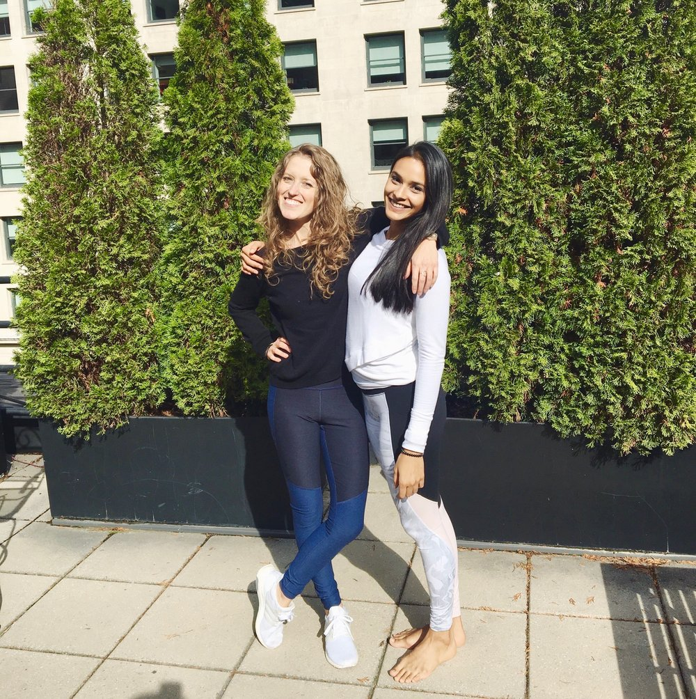 Romio Fitness Experts Sasha Nelson and Aditi Shah