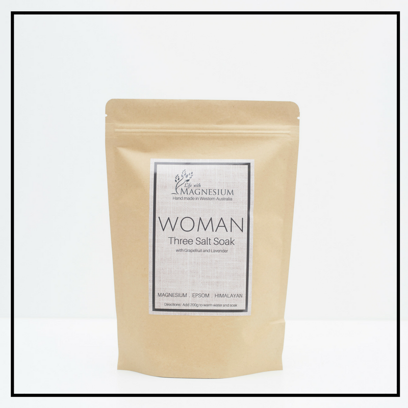 Woman Three Salt SoaK