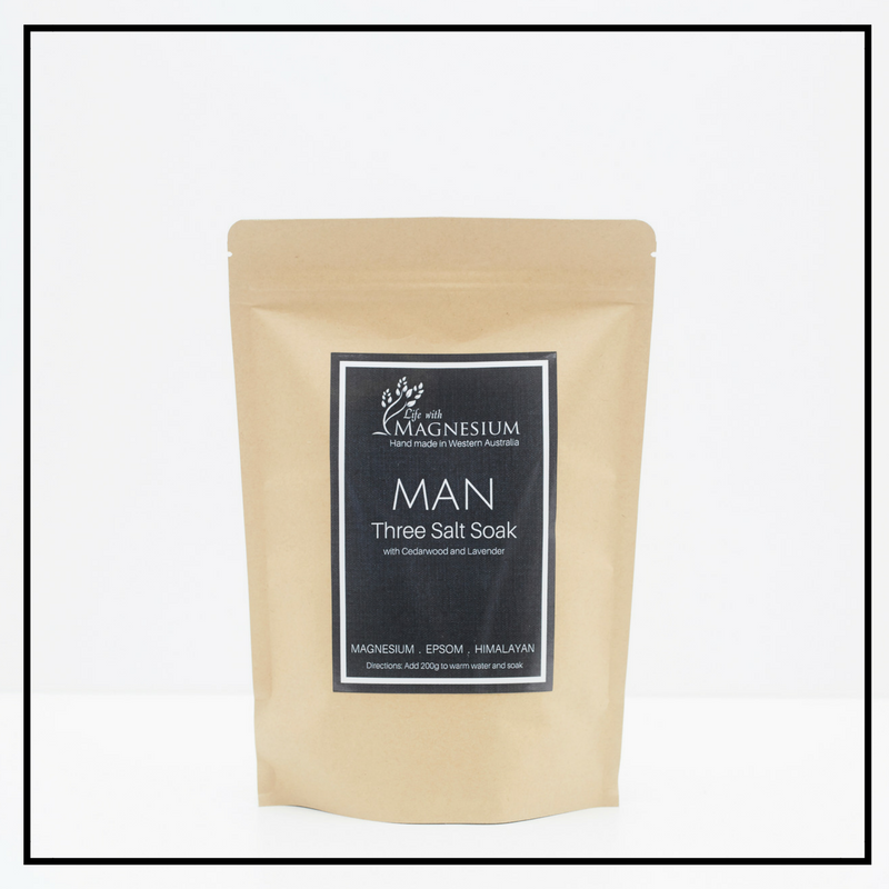 man Three salt soak