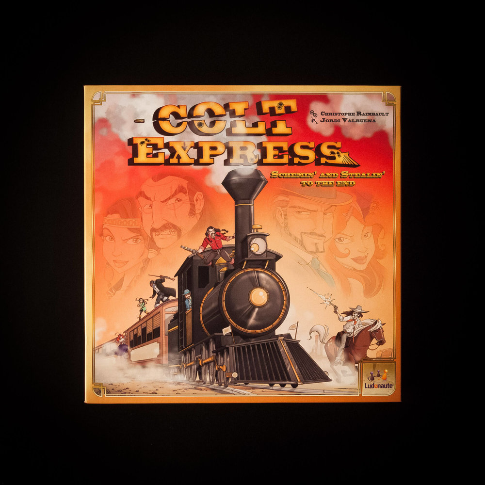 Colt Express. In this game, you need to choo-choo-choose your cards carefully. Sorry.