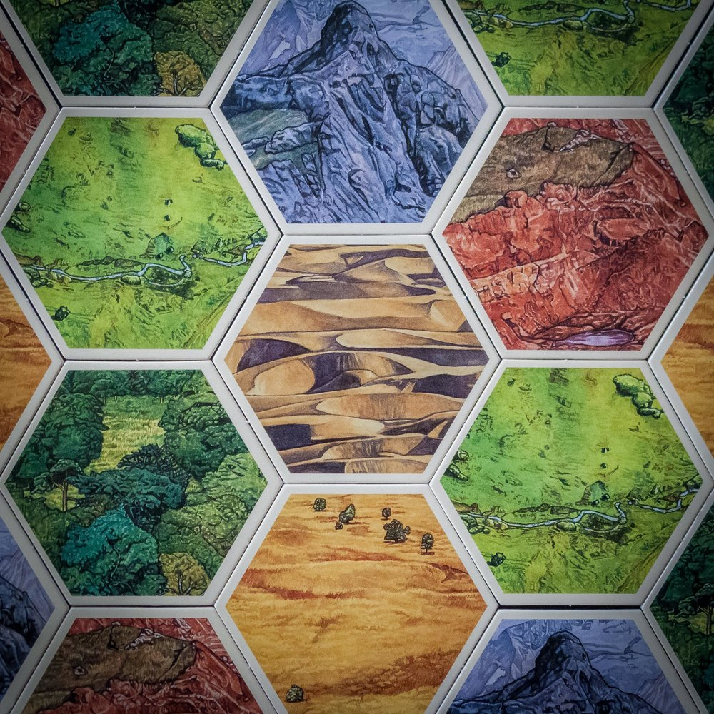 The hexboards of Catan (Not the title of an expansion)