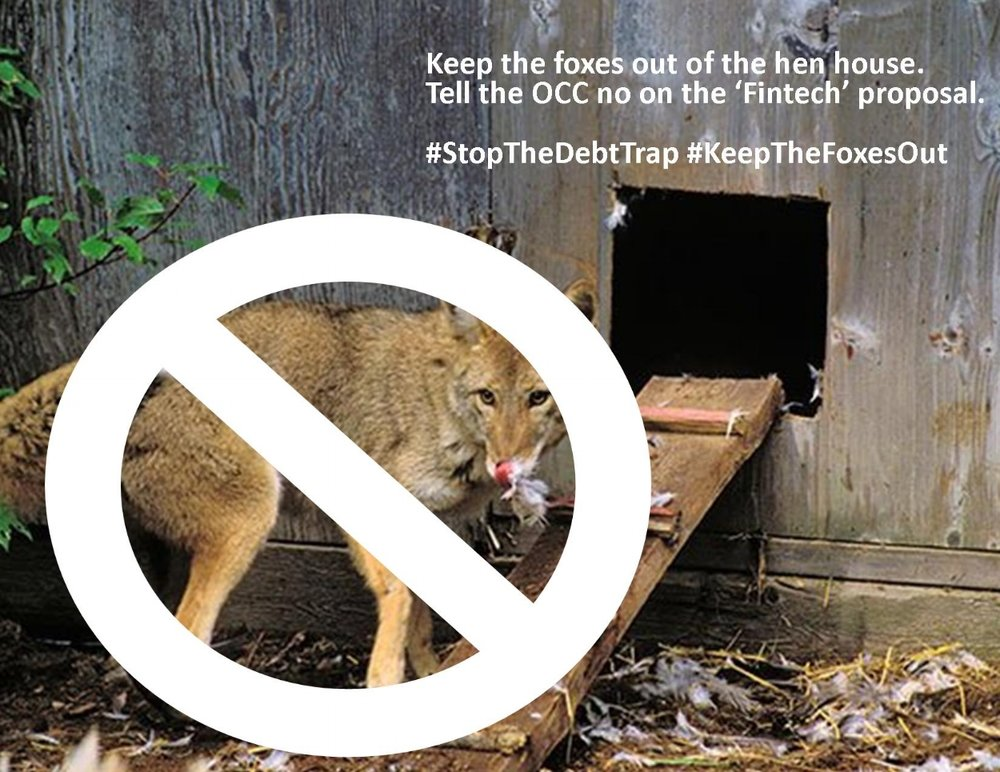 #KeepTheFoxesOut