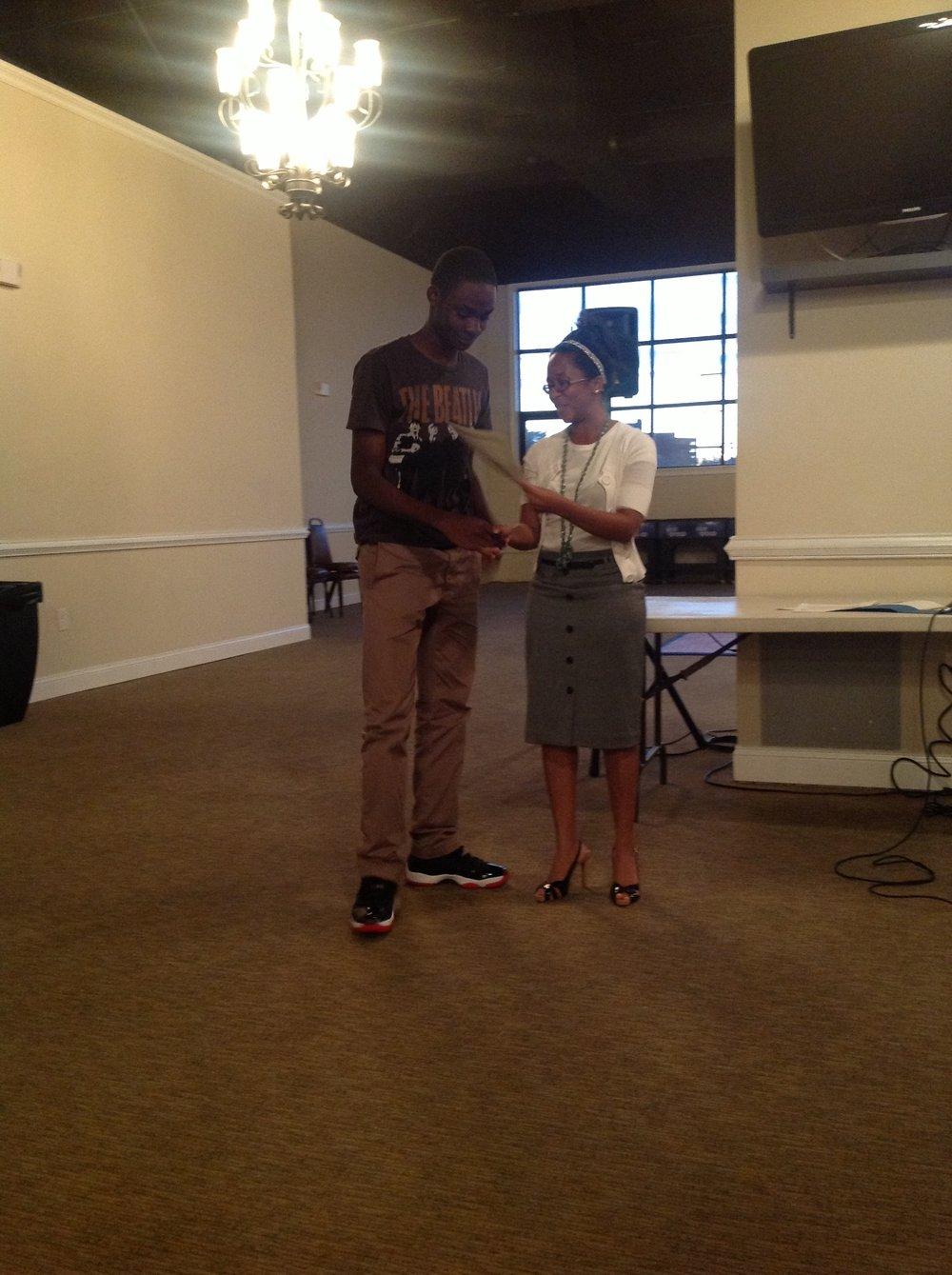 2014 RISE Scholarship Winner