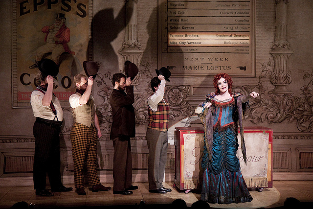 Kitty and the Cockney Bruisers. Mrs Warren's Profession. Shakespeare Theatre Company
