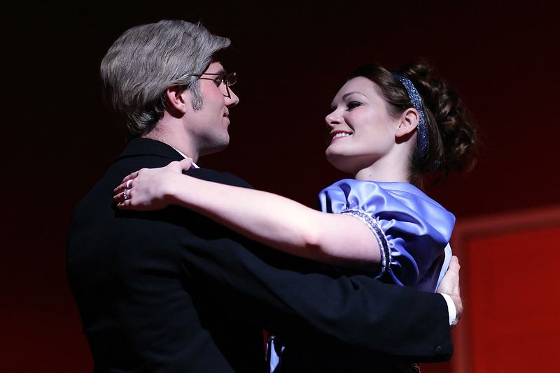 Scrooge: The Musical. Little Theatre of Alexandria. Photo: Shane Canfield