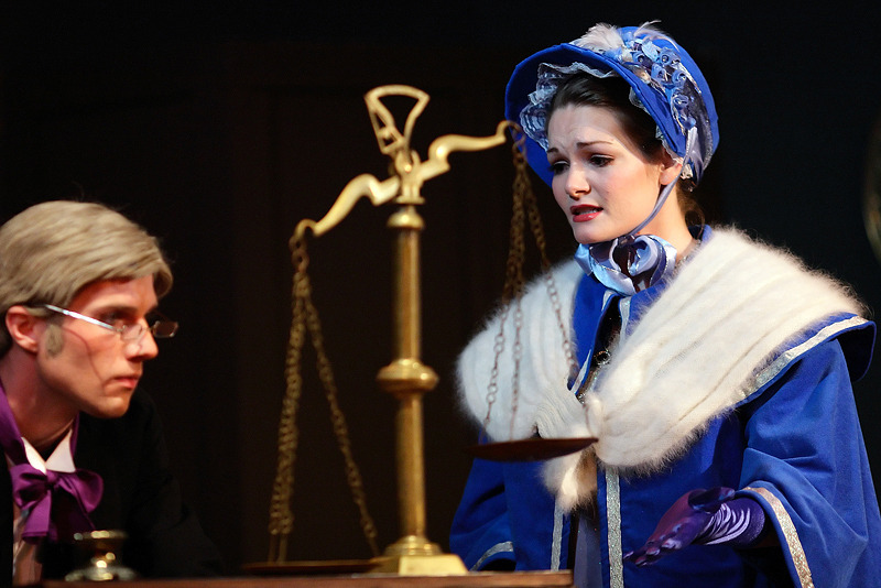 Scrooge the Musical. Little Theatre of Alexandria. Photo: Shane Canfield