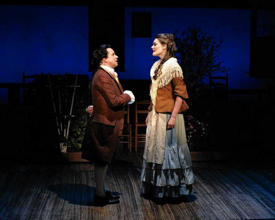 Abigail Adams in 1776. With Greg Horton. Cortland Repertory Theater