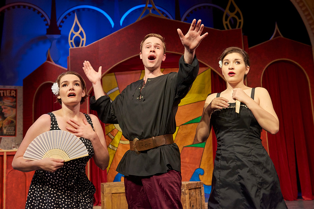 Isabel in The Pirates of Penzance. With Billy Hutto and Mackenzie Richard, Theater at Monmouth