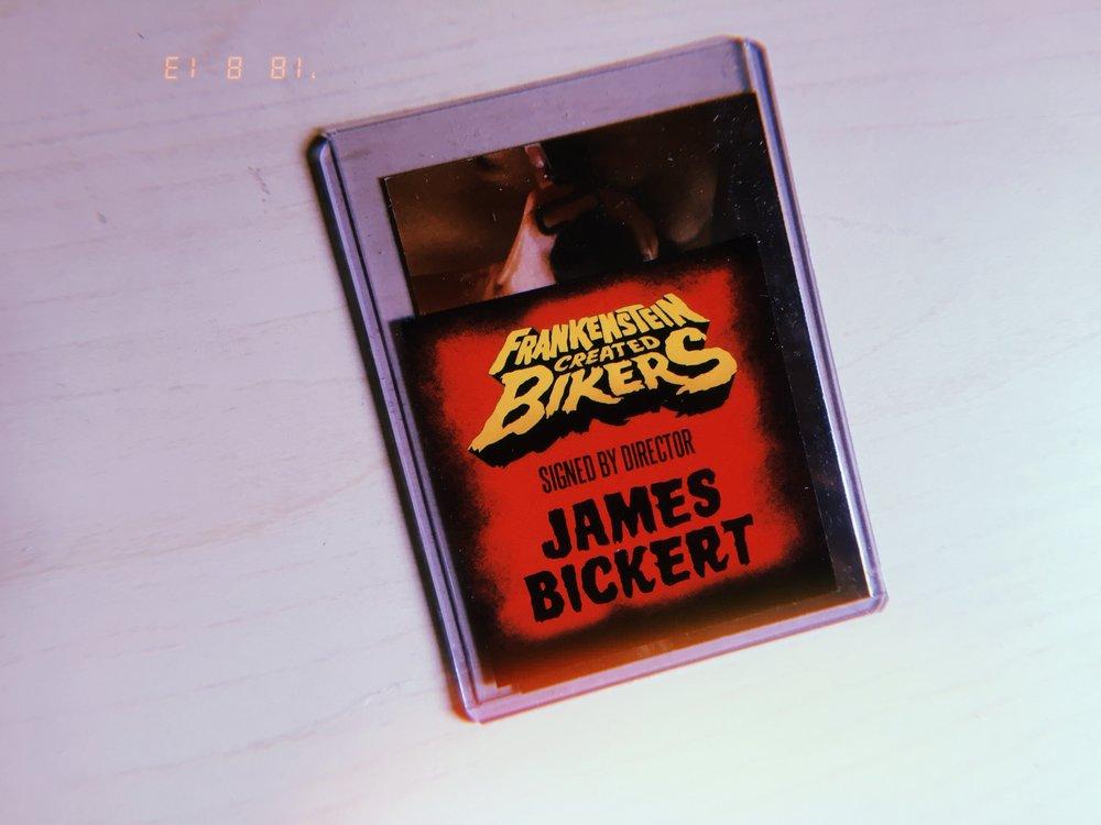 Autograph - James Bickert