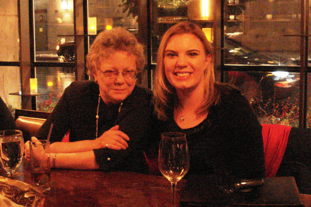 Kate and her mother, Deborah