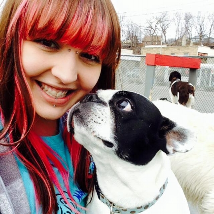 Jess with Zoe
