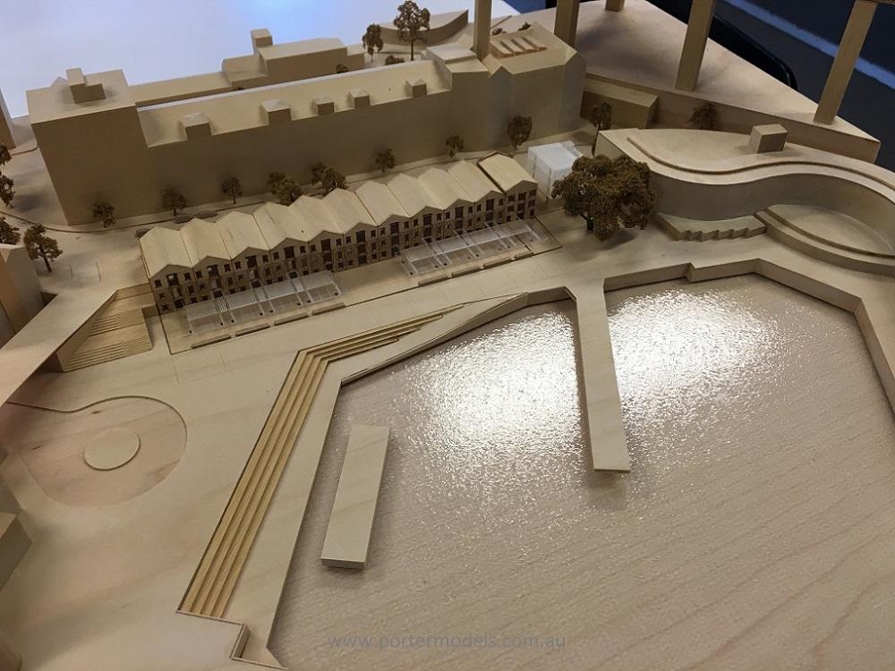 Campbells store timber models by Porter Models