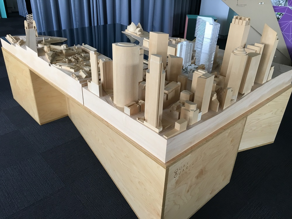 Quay Quarter timber model by Porter Models