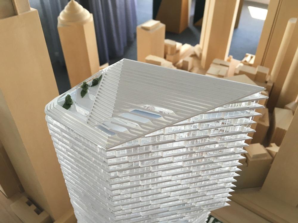 Quay Quarter timber model by Porter Models