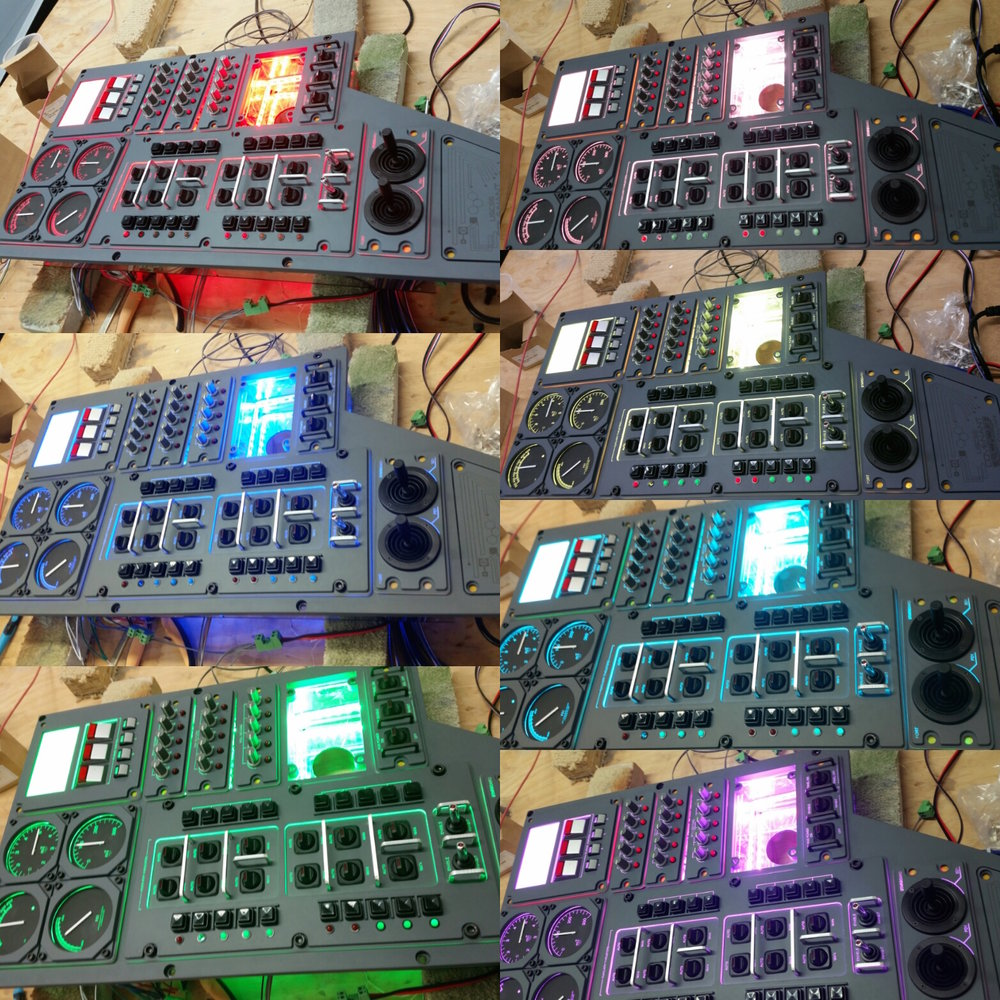 Alien Covenant control panels