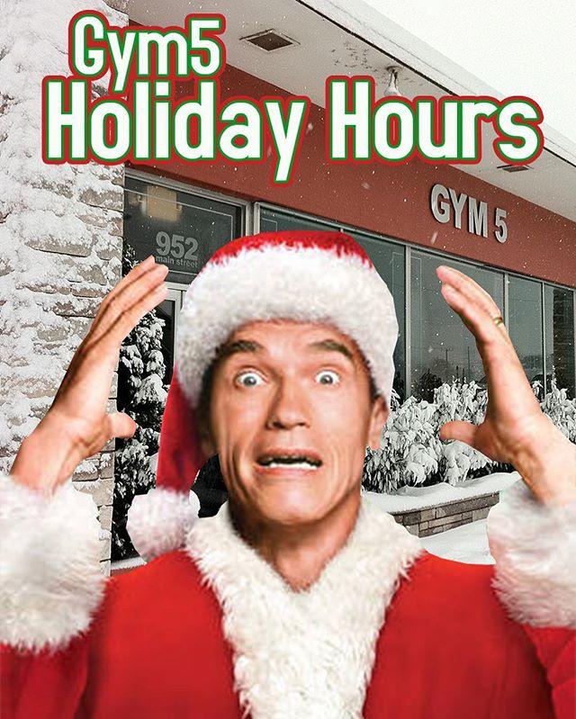 12/24 Closed 12/25 Closed 12/26 8am-9pm 12/31 6am-6pm 1/1 8am-8pm
