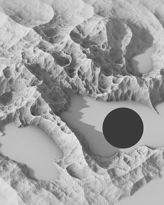 HOW ONE MIGHT IMAGINE THE ARCTIC * * * * #monochrome #xuxoe #landscape #graphicdesign #blackandwhite #design #3d #cinema4d #digital #graphics #cgi #coast #landscape_captures #designers #map #c4d #minimalism #creatives #graphic #rendering #mountains #abstract #landscape_lovers #amapaday #landscapelovers #render #topography #vienna #digitalart #arctic