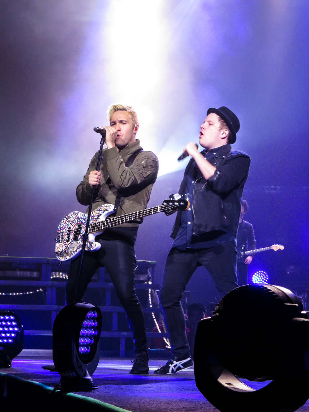 Pete Wentz & Patrick Stump of Fall Out Boy