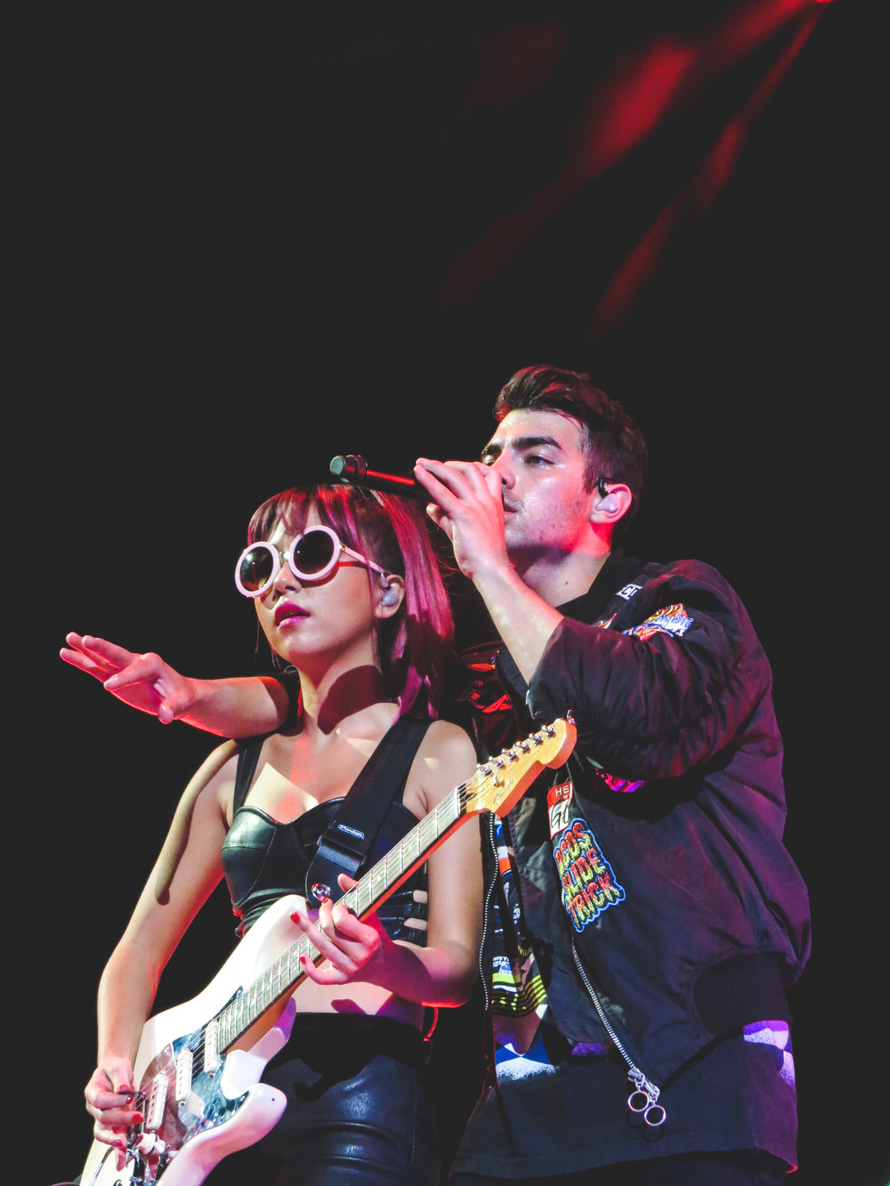 Joe Jonas & Jin Joo of DNCE