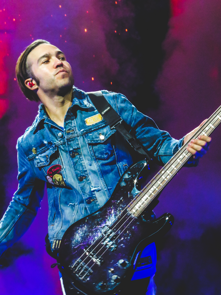 Pete Wentz of Fall Out Boy