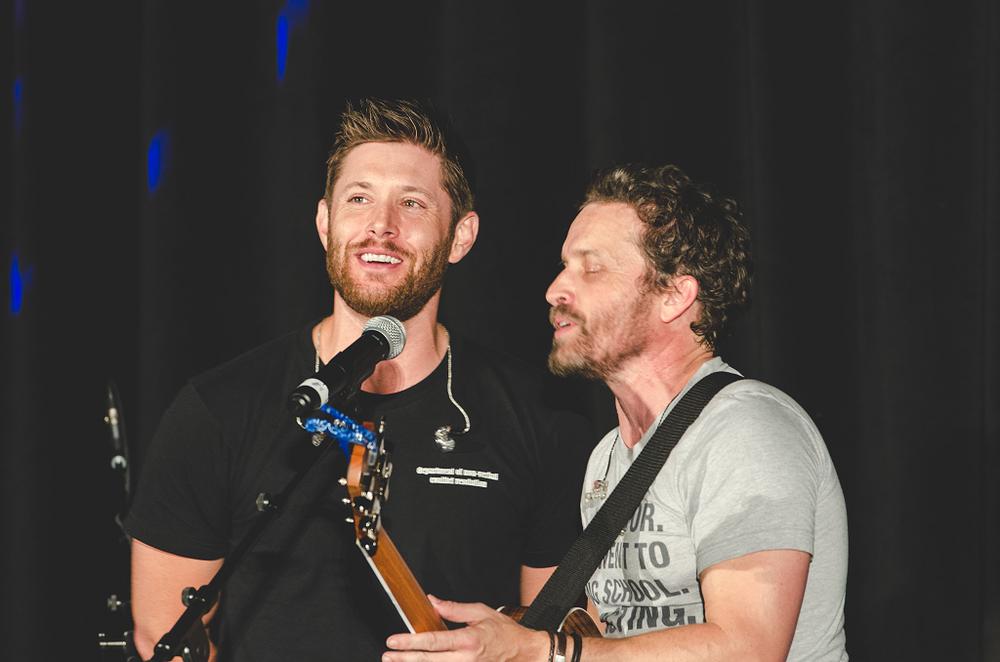 Jensen Ackles & Rob Benedict