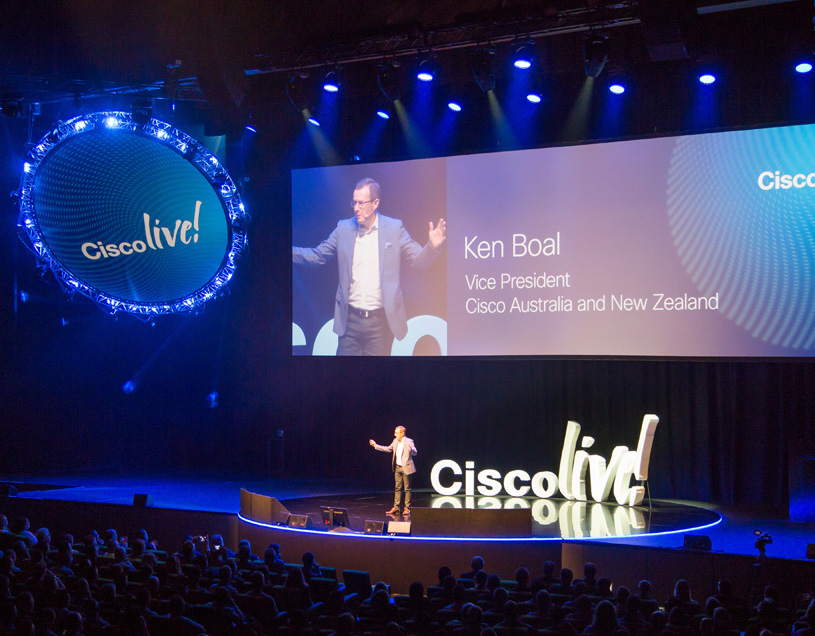 Cisco  Live!  2017 at Melbourne Convention & Exhibition Centre  Event Produced by Veritas Events