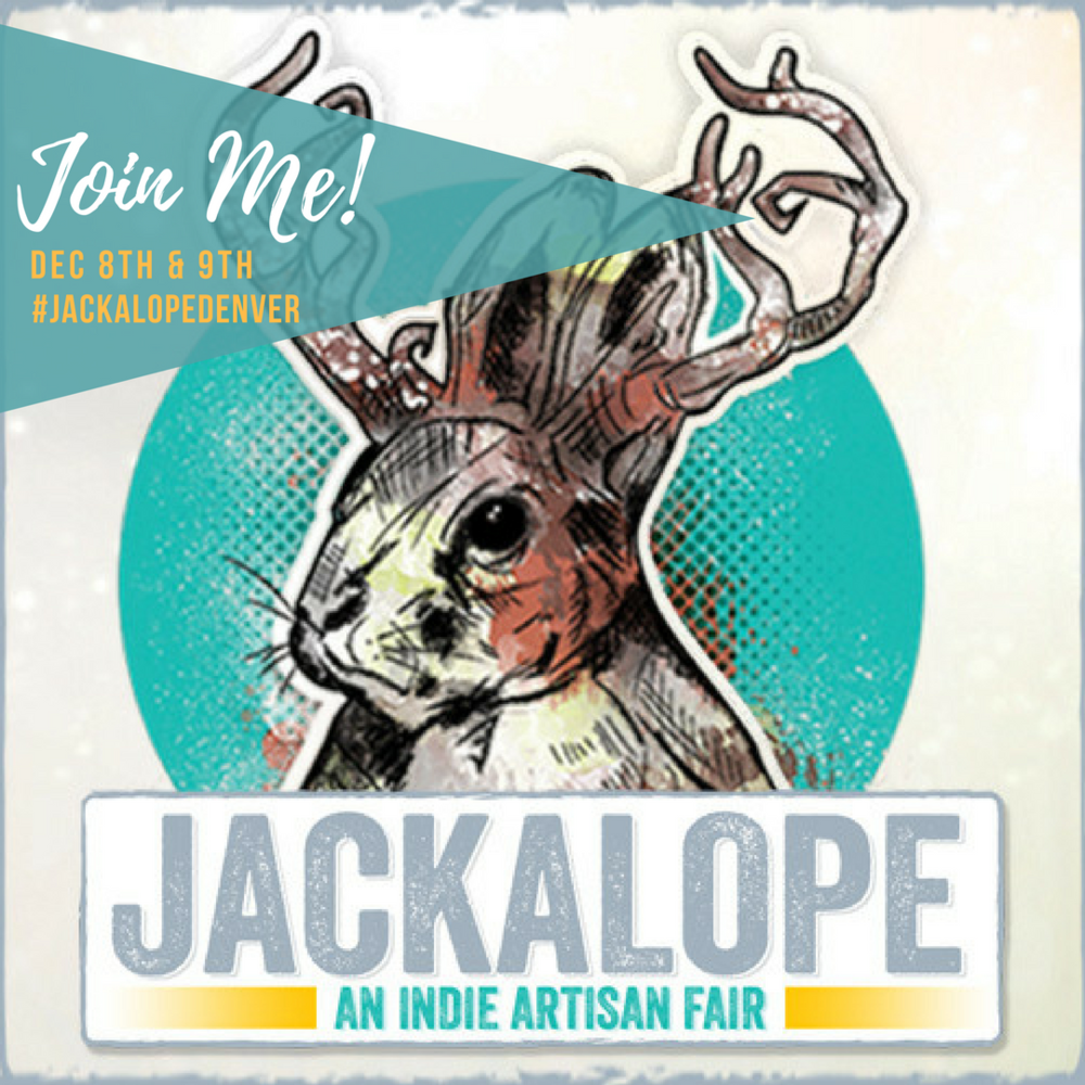 Check out Nattyology at Jackalope Denver! - Saturday, December 8th & Sunday, December 9thhttps://www.jackalopeartfair.com/denver/