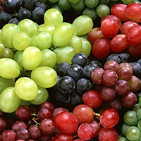 GRAPES  45 lbs No stems & Frozen