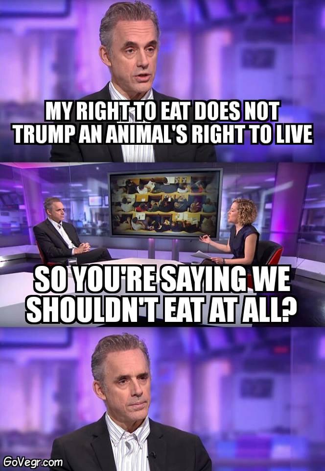 It's not food it's violence