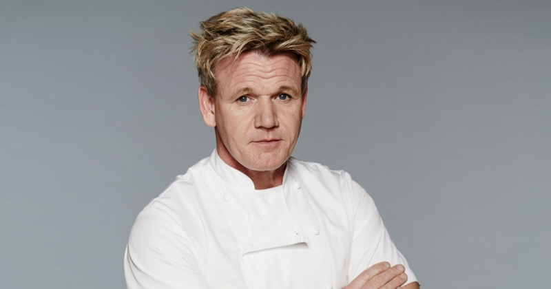 Gordon Ramsay goes vegan