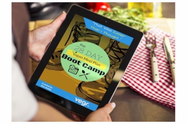 28 day vegan meal plan boot camp