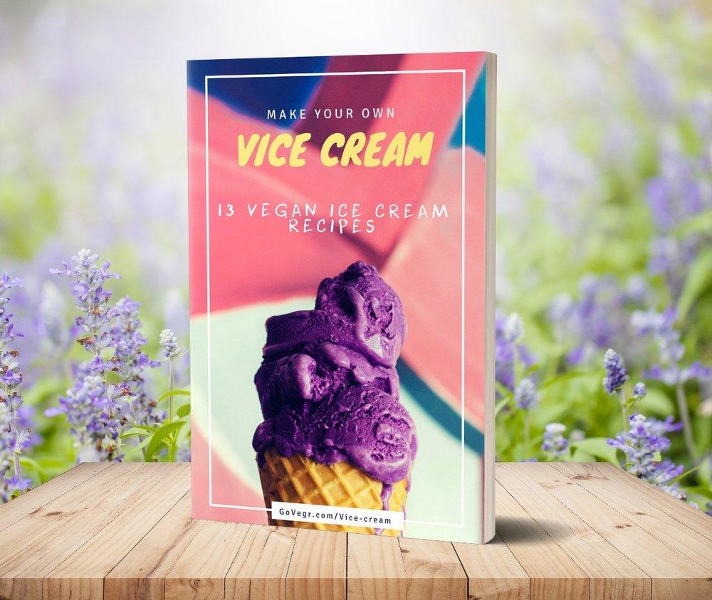 Vice-cream recipe book
