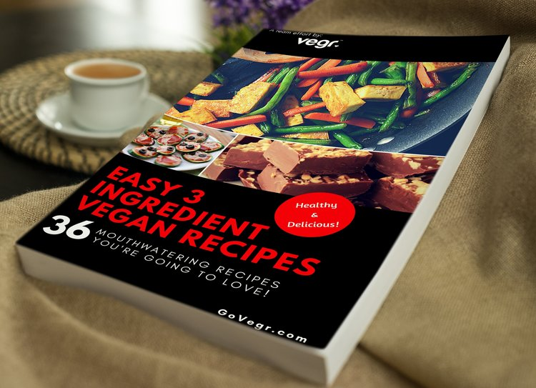 Easy 3 ingredient vegan recipes