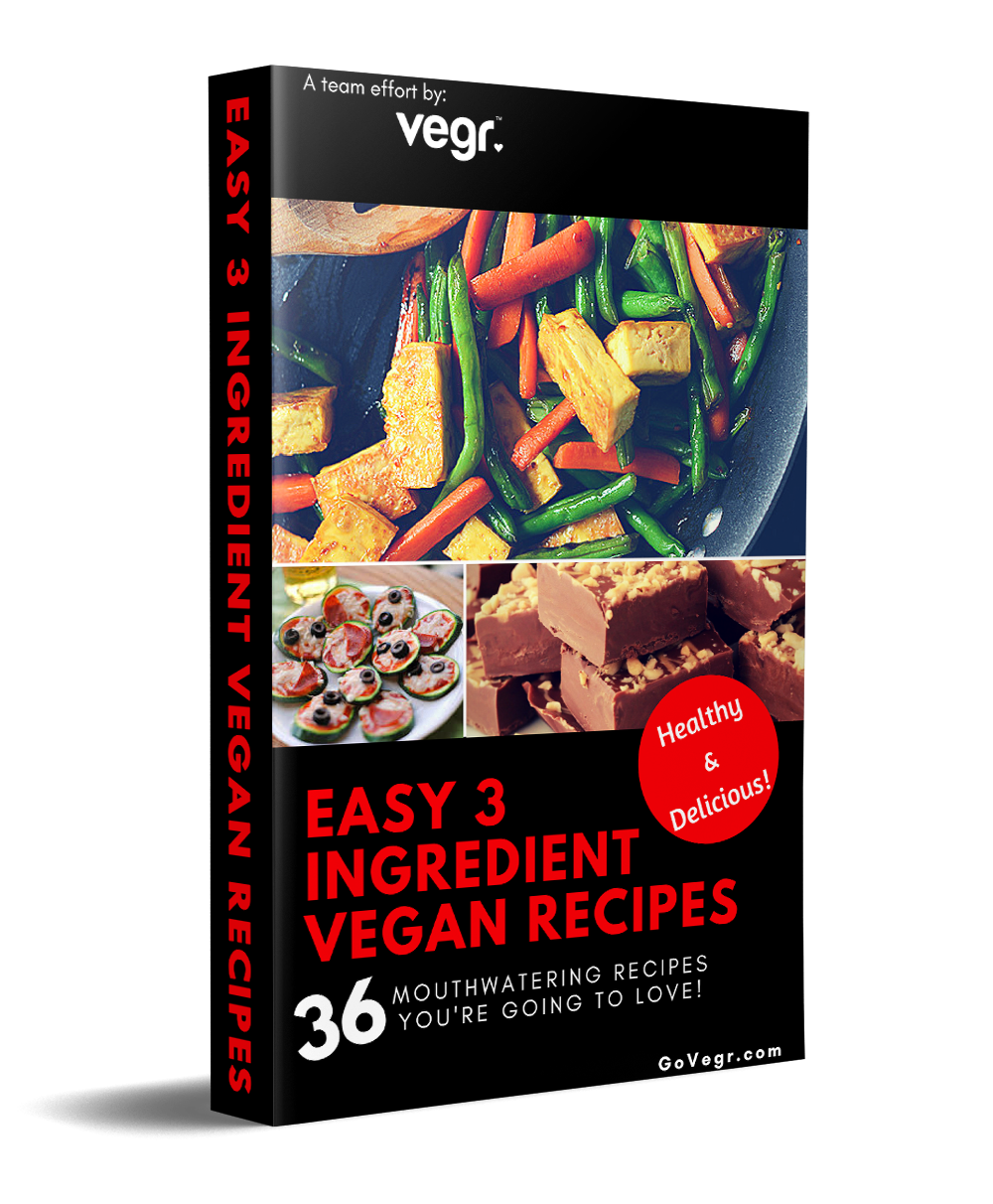 Easy 3 ingredient vegan recipes