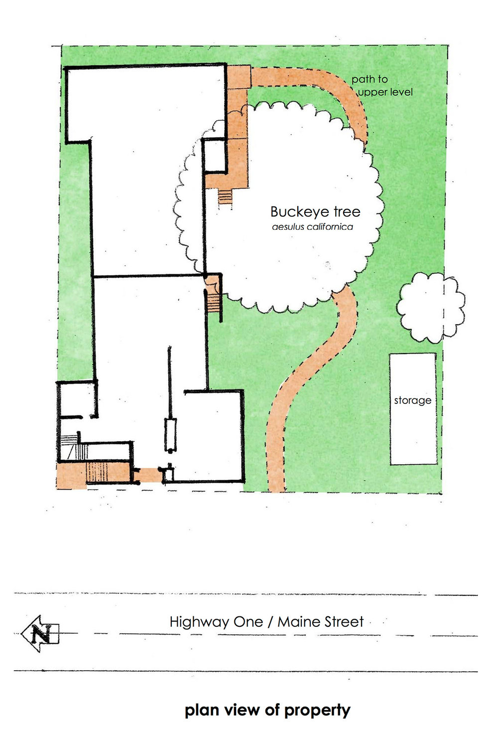 Plan View of Property