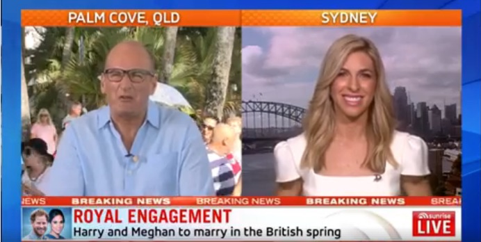 Samantha Brett on Sunrise talking Meghan Markle