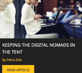 Keeping the Digital Nomads in the Tent - A passionate topic of mine has made it into Hashtag HR, one of the fastest growing Blogs and Publications for the HR & Recruitment Industry! Read the full article HERE.