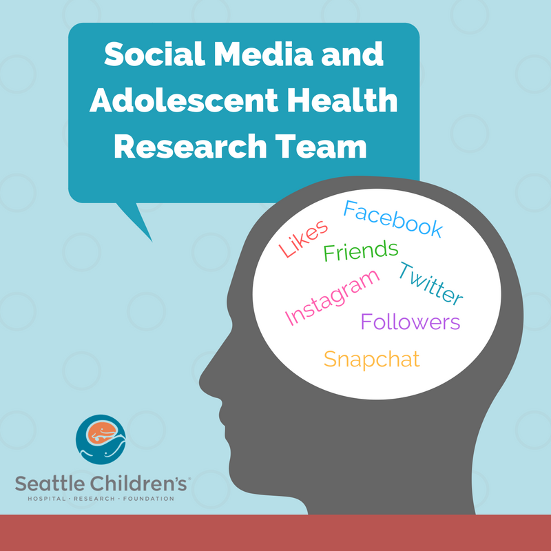 The Social Media and Adolescent Health Research Team looks at how adolescents use technology and social media, which informs future legislation, recommendations about best practices, and tools for parents and adolescents. -