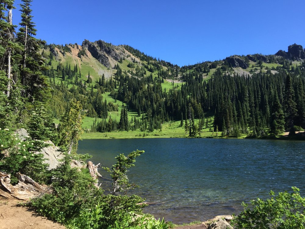 Sheep Lake | It only took about an hour of hiking to get here!