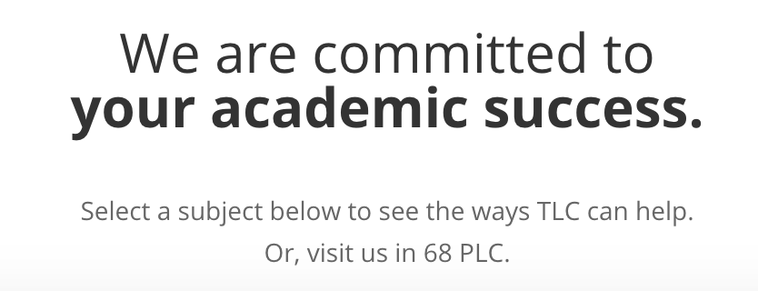 Landing page of the  University of Oregon's Teaching and Learning Center  has the following mission statement on their home page