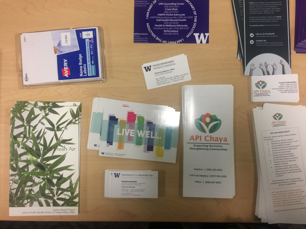 Resources for victims and survivors of sexual assault