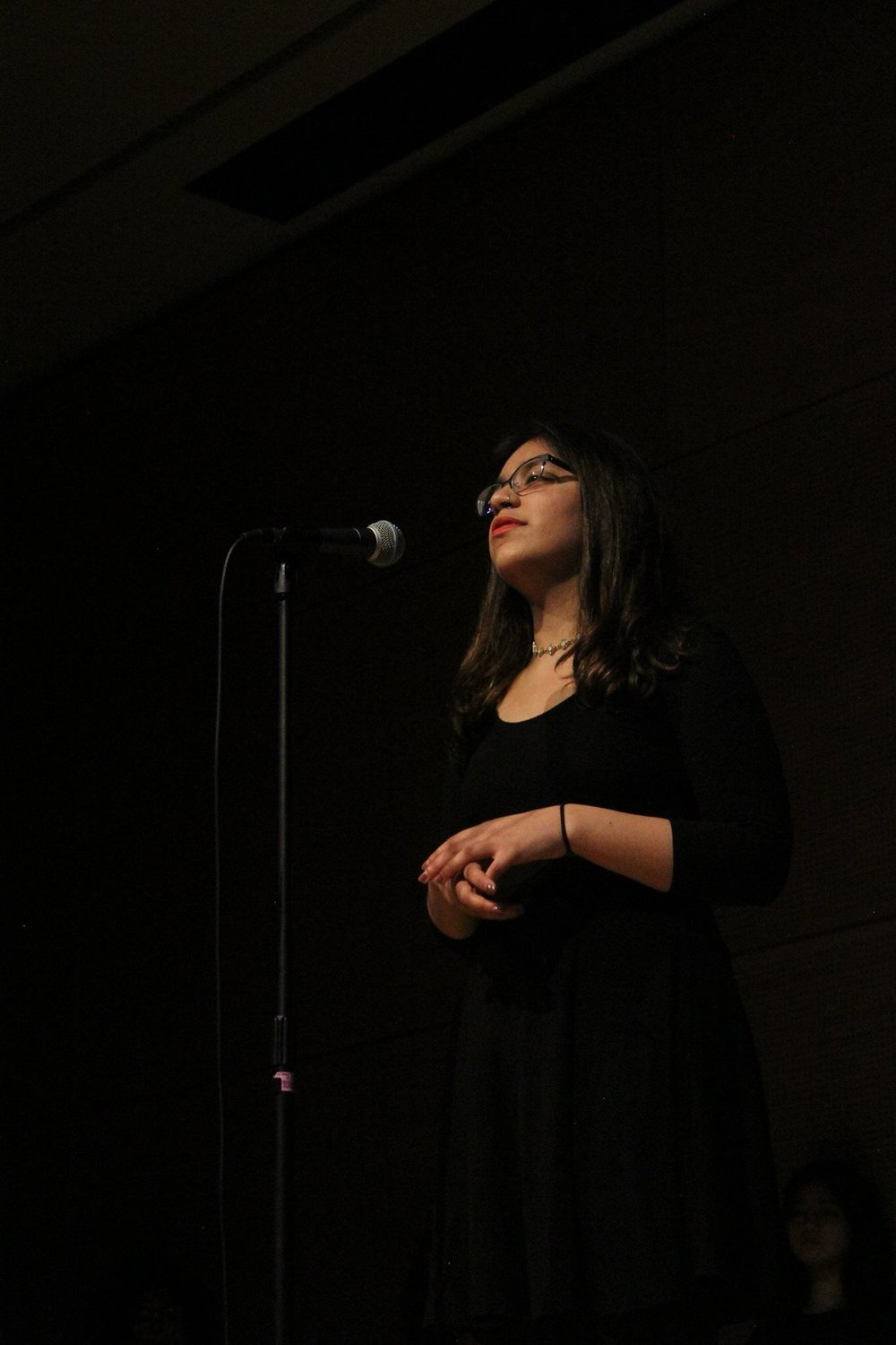 Performing in the Blank Monologues