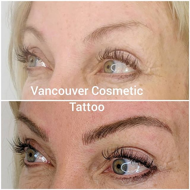Beautiful framing of these gorgeous green eyes!  Microblading is an excellent procedure to have done on eyebrows. This will give very natural results💕💕 #permablendpigments #tinadaviesprofessional #micropigmentation #microblading #browsthatwow #naturalstrokes #strokebystroke #browtattoos #vancouverbrows #kitsilano #kits #beauty #beauty  #women #youthfuleyes #artist #sculptor #plasmaskintightening #cosmetictattoo #liptattoo #eyeliner #lashlift #lashliftandtint