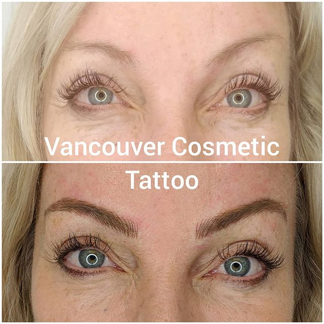 Microblading is an excellent way to achieve a natural looking eyebrow tattoo💕  #microblading #i❤️ink  #permablendpigments  #tinadaviesprofessional #cosmetictattoo #women #womensbeauty #browtattoos #browtat #browtattoo #strokebystroke #artist #sculptor #painter #vancouverbrows #vancitybrows #kitsilano  #kitsilanobrows