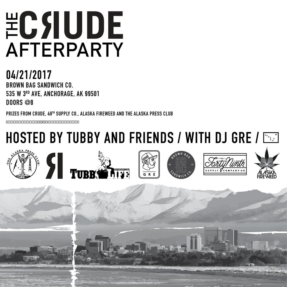 CLICK HERE  to check out photos from Crude Magazine's AFTERPARTY @ Brown Bag on 4/21, hosted by Tubby & Friends and DJ GRE